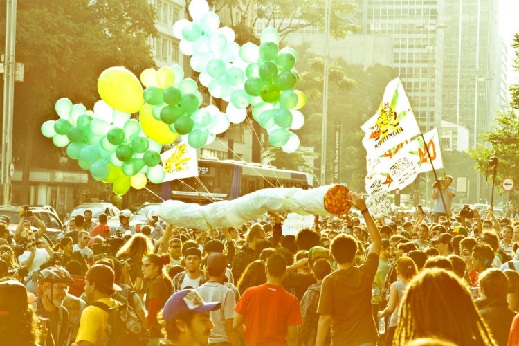 Marcha da Maconha 2013 - por Gabriela Batista