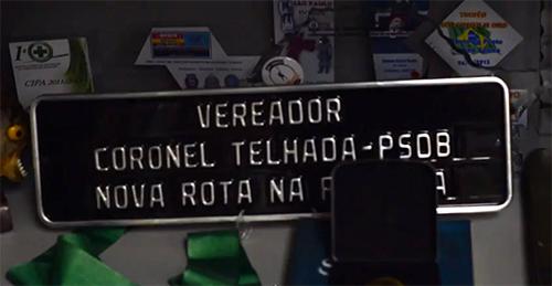 O gabinete de Telhada é repleto de objetos que relembram seus tempos como coronel da ROTA. (Foto: Leonardo Blecher)