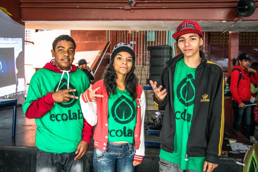 Os reporters do Ecolab - Foto: Victor Santos