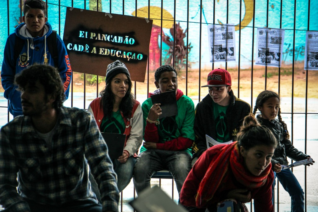 Os reporters do Ecolab - Fotos: Victor Santos
